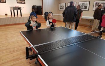 Ping-pong Pod Oravským Zámkom